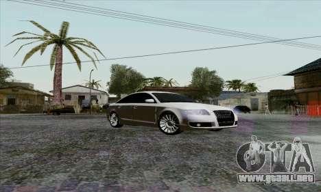 Audi A6 para visión interna GTA San Andreas