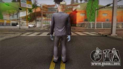 Hoxton From Pay Day 2 v2 para GTA San Andreas segunda pantalla