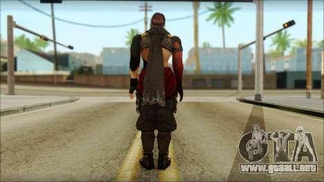 Ryu True Fighter From Dead Or Alive 5 para GTA San Andreas segunda pantalla