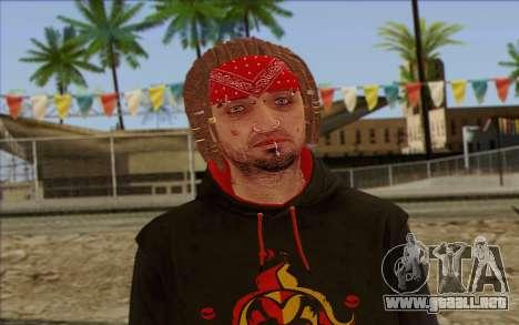 GTA 5 Wade Hebert para GTA San Andreas tercera pantalla