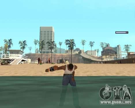 En el aire! para GTA San Andreas quinta pantalla