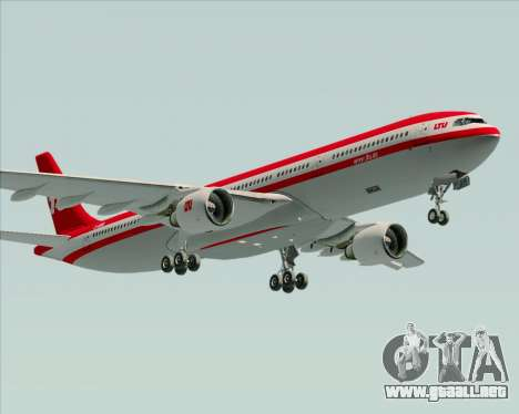 Airbus A330-300 LTU International para el motor de GTA San Andreas