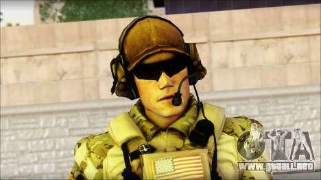 Engineer from BF4 para GTA San Andreas tercera pantalla