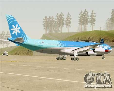 Airbus A340-313 Air Tahiti Nui para la visión correcta GTA San Andreas