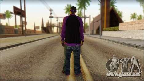 Plen Park Prims Skin 1 para GTA San Andreas segunda pantalla