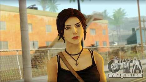 Tomb Raider Skin 4 2013 para GTA San Andreas tercera pantalla