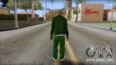 New CJ v1 para GTA San Andreas segunda pantalla