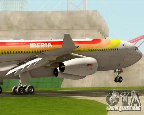 Airbus A340 -313 Iberia para el motor de GTA San Andreas