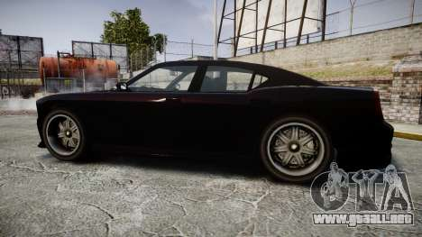 Bravado Buffalo FIB Modified para GTA 4 left