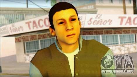 Los Aztecas Gang Skin v2 para GTA San Andreas tercera pantalla