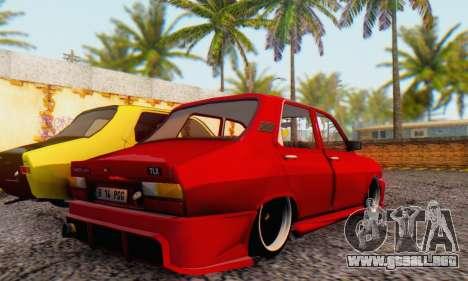 Dacia 1310 TLX PGG v1 para GTA San Andreas vista posterior izquierda