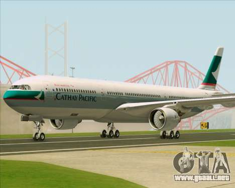 Airbus A330-300 Cathay Pacific para GTA San Andreas left