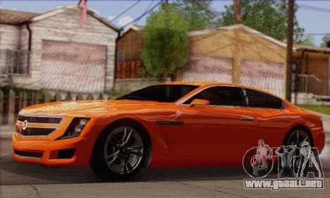 Alpha - DLC Business GTA V para la visión correcta GTA San Andreas