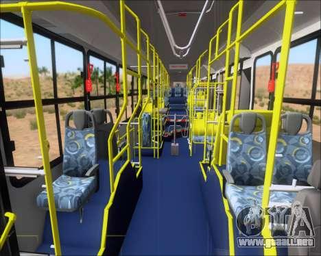 Caio Induscar Millennium BRT Viacao Gato Preto para vista inferior GTA San Andreas