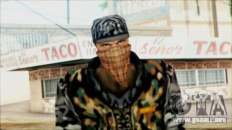 Manhunt Ped 21 para GTA San Andreas tercera pantalla