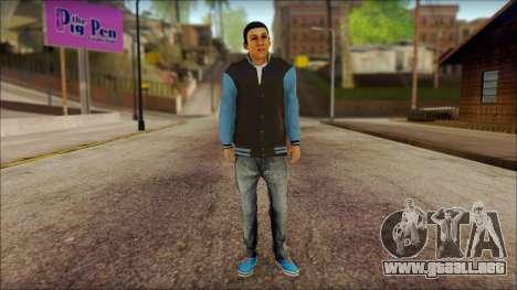 Los Aztecas Gang Skin v2 para GTA San Andreas