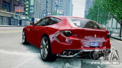 Ferrari FF para GTA 4 left