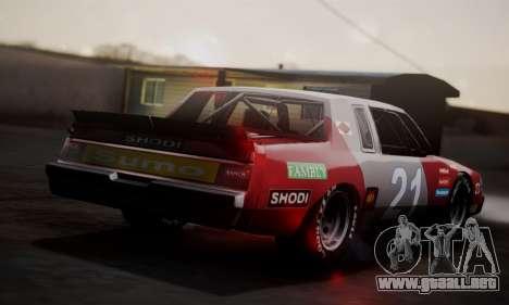Buick Regal 1983 para la visión correcta GTA San Andreas