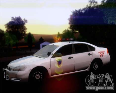 Chevrolet Impala 2006 Tallmage Batalion Chief 2 para GTA San Andreas