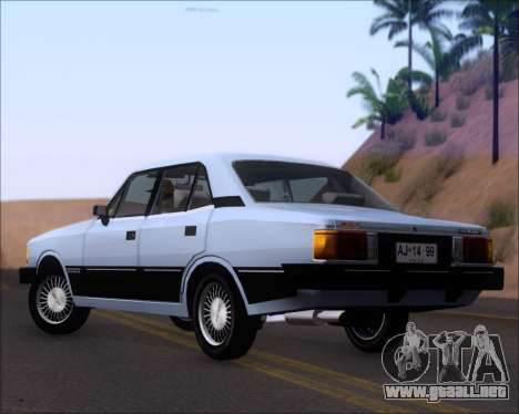 Chevrolet Opala Diplomata 1987 para GTA San Andreas vista posterior izquierda