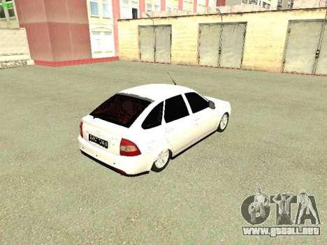 Lada 2172 Priora para la visión correcta GTA San Andreas