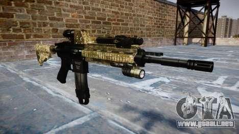 Automatic rifle Colt M4A1 devgru para GTA 4
