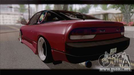 Nissan Silvia 240sx Ryan Tuerck para GTA San Andreas left