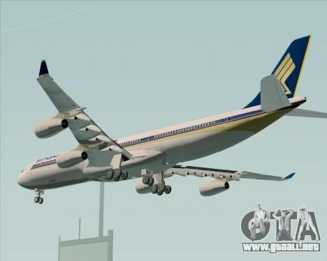 Airbus A340-313 Singapore Airlines para GTA San Andreas