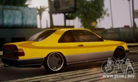 Mercedes-Benz C124 para GTA San Andreas left