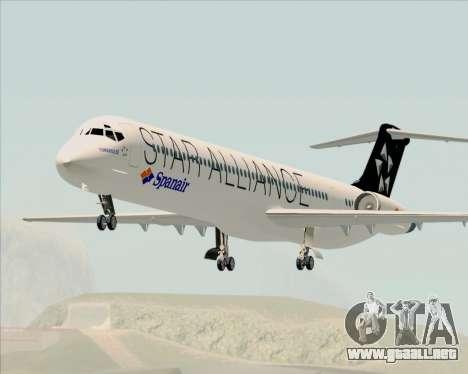 McDonnell Douglas MD-82 Spanair para GTA San Andreas