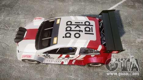 Zenden Cup Dalilfodda para GTA 4 visión correcta