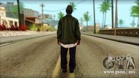 Eazy-E Green v2 para GTA San Andreas segunda pantalla