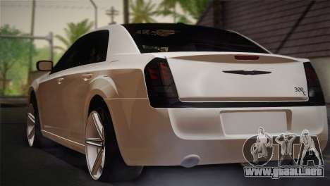 Chrysler 300C 2011 para GTA San Andreas left