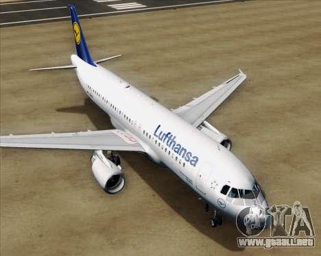 Airbus A320-211 Lufthansa para el motor de GTA San Andreas