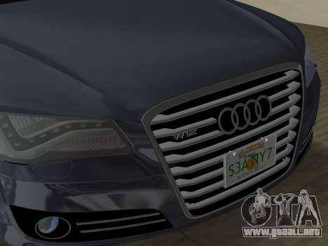 Audi A8 2010 W12 Rim1 para el motor de GTA Vice City