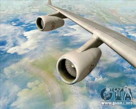 Airbus A340-313 Emirates para el motor de GTA San Andreas