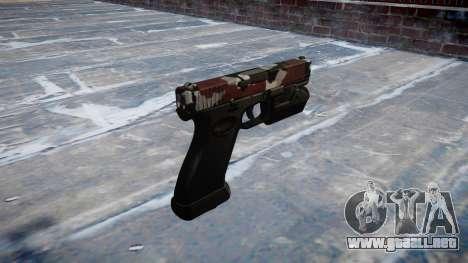 Pistola Glock 20 son inyectados de sangre. para GTA 4 segundos de pantalla