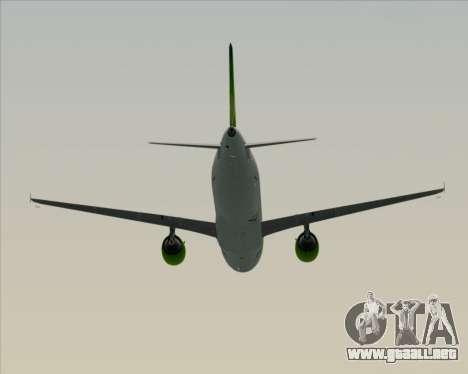 Airbus A320-200 Air Australia para la vista superior GTA San Andreas