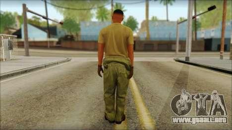 GTA 5 Soldier v2 para GTA San Andreas segunda pantalla