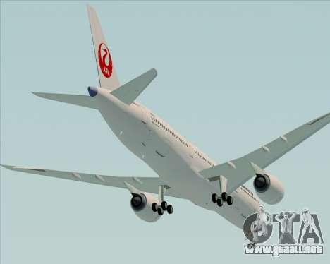Airbus A350-941 Japan Airlines para el motor de GTA San Andreas