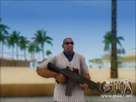 Israel carabina ACE 21 para GTA San Andreas novena de pantalla