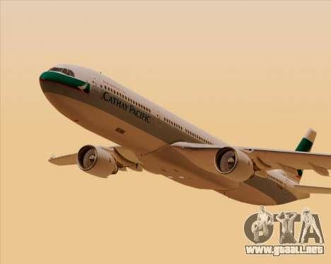 Airbus A330-300 Cathay Pacific para GTA San Andreas