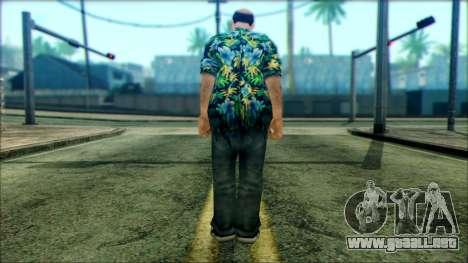 Manhunt Ped 6 para GTA San Andreas segunda pantalla