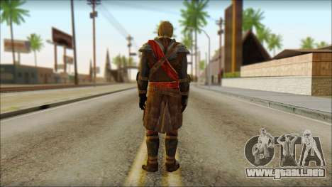 Edward Kenway Assassin Creed 4: Black Flag para GTA San Andreas segunda pantalla