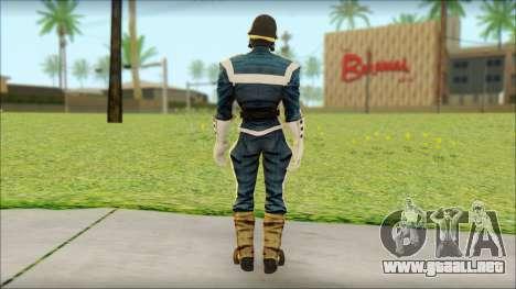Guardians of the Galaxy Star Lord v1 para GTA San Andreas segunda pantalla