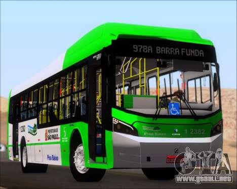 Caio Induscar Millennium BRT Viacao Gato Preto para el motor de GTA San Andreas