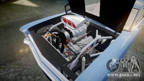 Chevrolet II Nova SS 1966 Custom [EPM] para GTA 4 vista interior