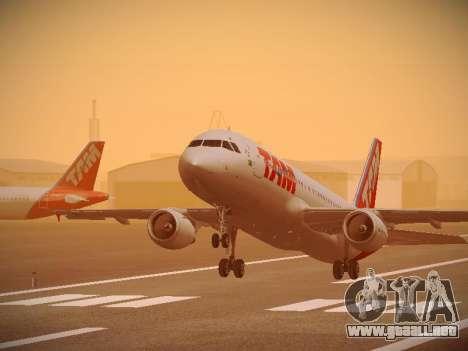 Airbus A320-214 TAM Airlines para el motor de GTA San Andreas