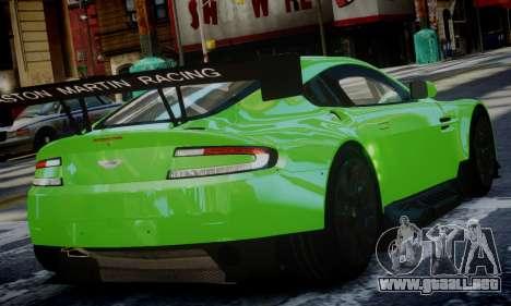 Aston Martin Vantage GTE para GTA 4 left