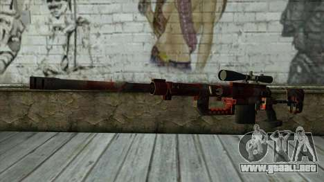 Sniper Rifle from PointBlank v3 para GTA San Andreas
